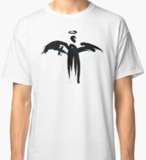 Angel (Black on White) Classic T-Shirt