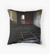 Abandoned - Woogaroo Lunatic Asylum Throw Pillow