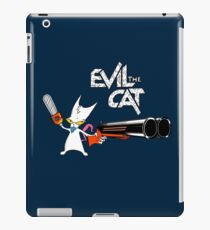 EVIL CAT iPad Case/Skin