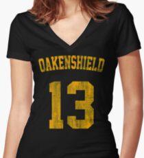 Team Oakenshield Women's Fitted V-Neck T-Shirt