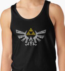 Zelda - Doodle Hyrule Camiseta de tirantes