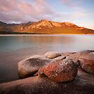 Trousers Point View, Flinders Island by Mike Calder