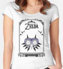 Zelda Legend - Majora's Mask doodle Women's Fitted Scoop T-Shirt