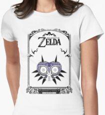 Zelda Legend - Majora's Mask doodle Women's Fitted T-Shirt