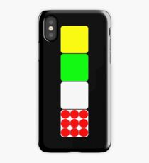 Tour de France Jerseys 2 Black iPhone Case