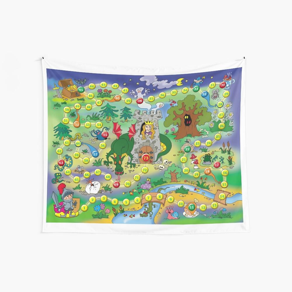 Настольная #игра - Board #game #Настольнаяигра #Boardgame  Wall Tapestry