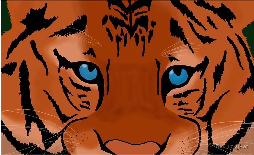 Eye of the Tiger by TheLuckyKat