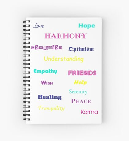 Good Words Spiral Notebook