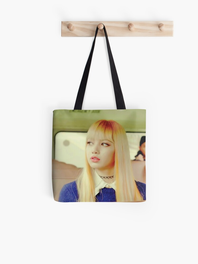 Lisa Blackpink Playing With Fire Tote Bag