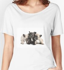 Frenchie Pals Women's Relaxed Fit T-Shirt
