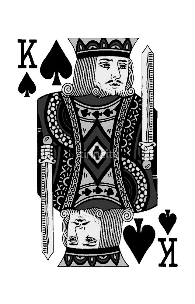 king of spades by tinncity