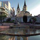 Žilina Skyline Reflections by Kasia-D