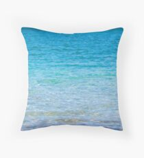 Mull turquoise Throw Pillow
