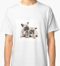 Frenchie Puppy Pals Classic T-Shirt