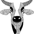 «Vaca en blanco y negro» de artetbe
