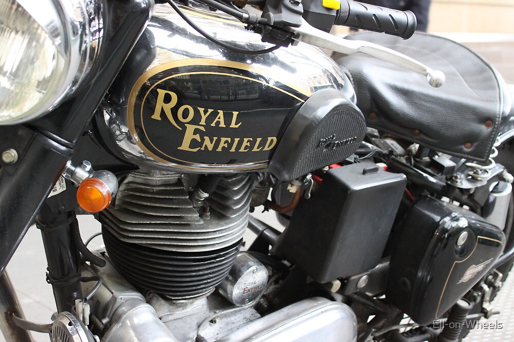 "Royal Enfield ""Bullet"" by Ell-on-Wheels"