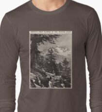 Spring's First Flower in the Winter Snow T-Shirt