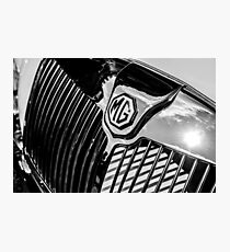 MG Radiator Grill Photographic Print