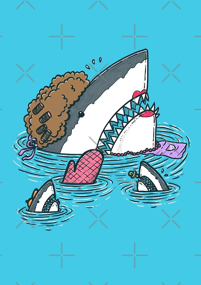 The Mom Shark by nickv47