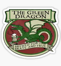 The Green Dragon Sticker