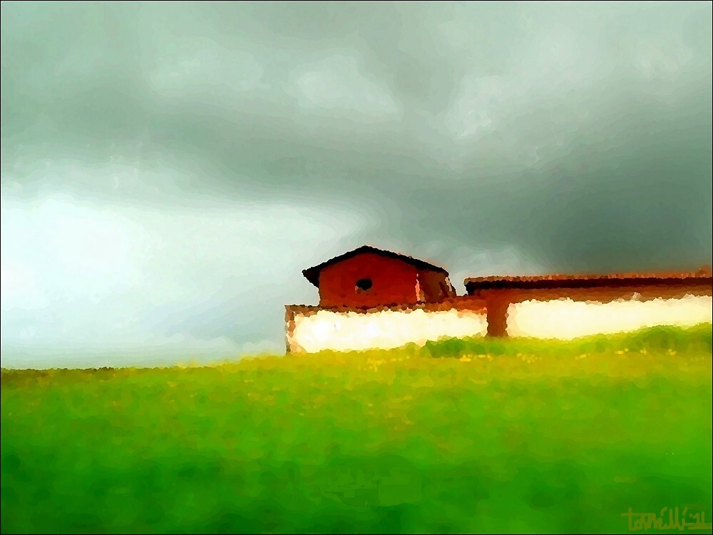Impression of The Countryside, Peru by paintingsheep