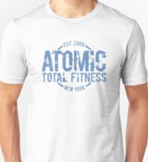 Atomic Total Fitness Distressed Unisex T-Shirt
