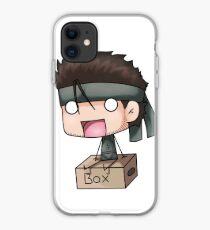 Metal Gear Box iPhone Case