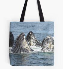 Bolsa de tela Satisfied Humpback Whales #3