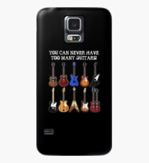Too Many Guitars! Case/Skin for Samsung Galaxy