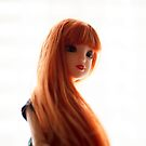 Red haired girl doll by vannaweb