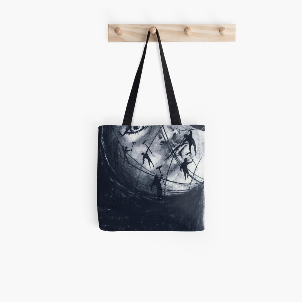 moon groomers (drawing) Stofftasche