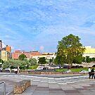 Kulturforum Panorama by metronomad
