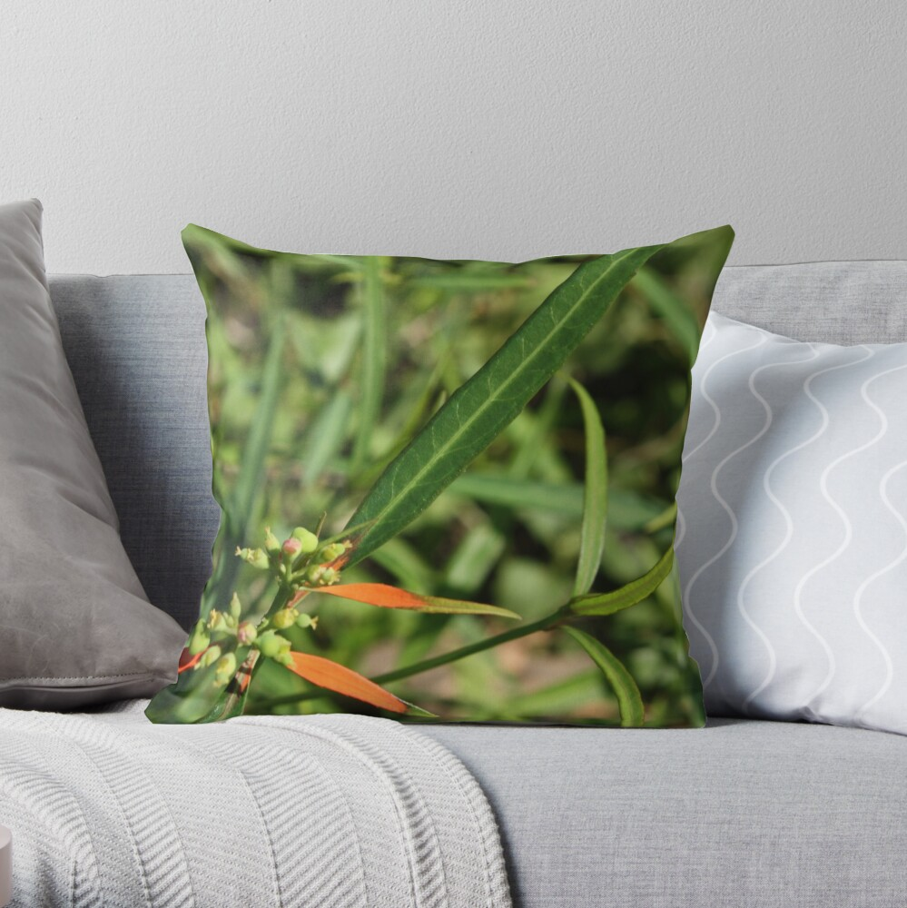 Beauty of the colors Throw Pillow