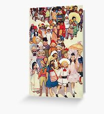 Friends in other Lands Greeting Card