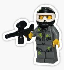 LEGO Paintballer Sticker