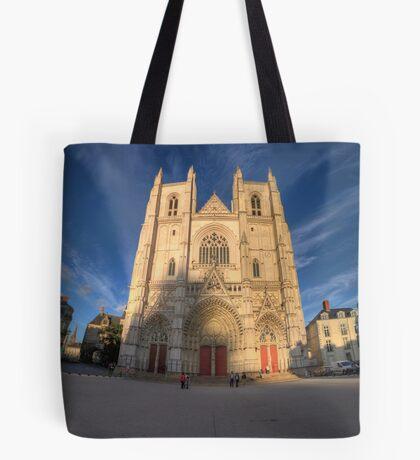 Cathedrale de Nantes Tote Bag