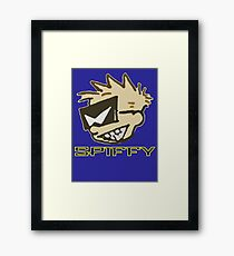 Spiffy Framed Print