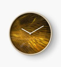 Golden Hair Clock