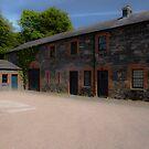 Rowallen Court Yard 2 by Jonny Andrews