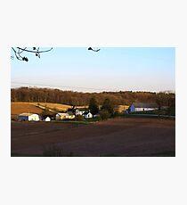 Waukesha County Farmland Photographic Print