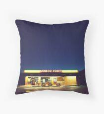 Rainbow Donuts. Throw Pillow