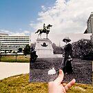 Looking Into the Past: Thomas Circle, Washington, DC by Jason Powell