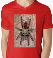 Adult Avicularia versicolor Tarantula Men's V-Neck T-Shirt