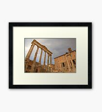 Historic Centre of Rome, Italy Framed Print