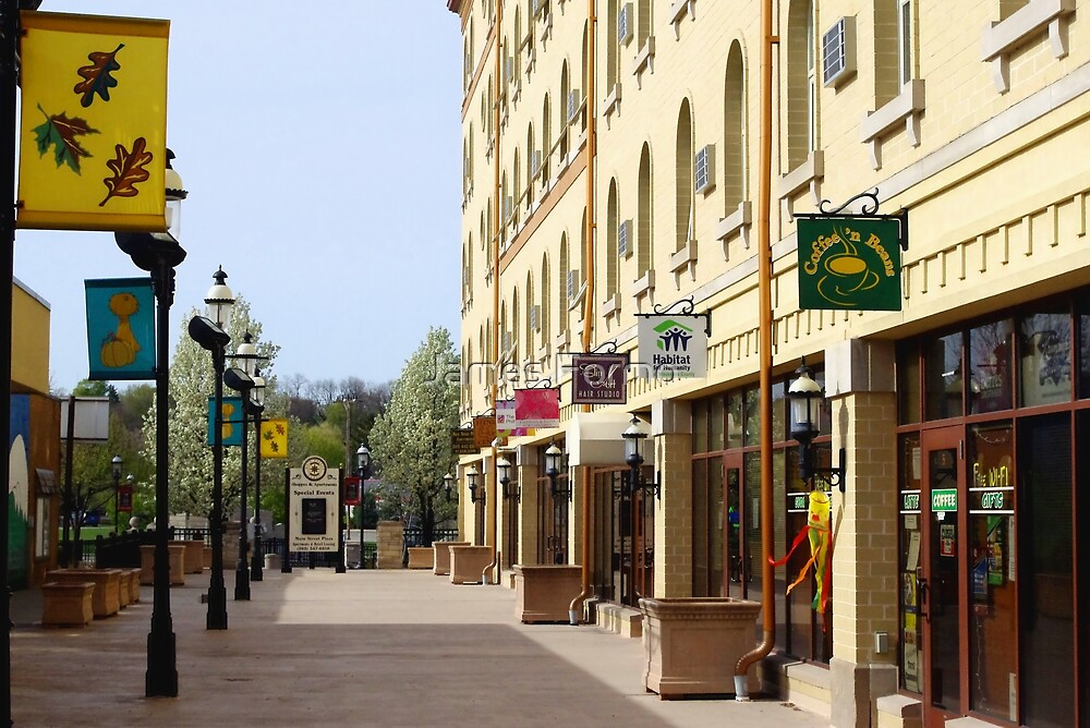 Downtown Waukesha Shops by James Formo