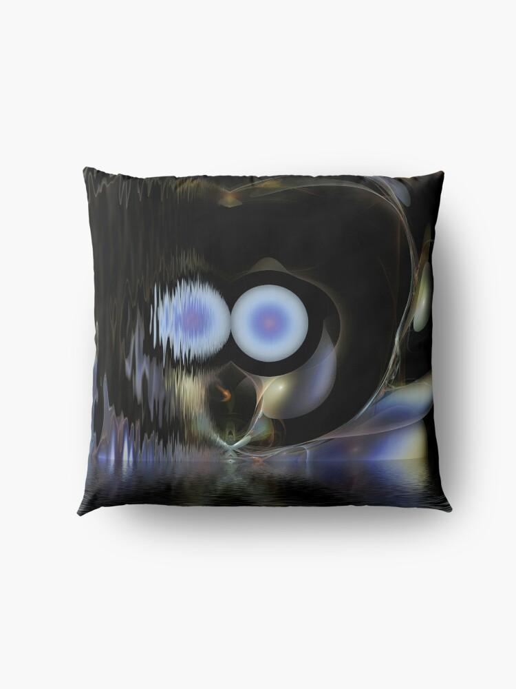 Alternate view of  Fishin' In The Dark Floor Pillow
