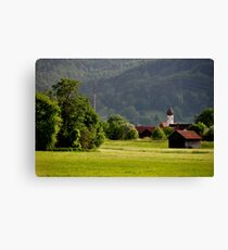 Countryside. Germany. Canvas Print