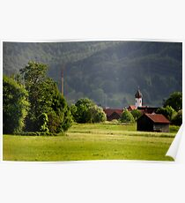 Countryside. Germany. Poster