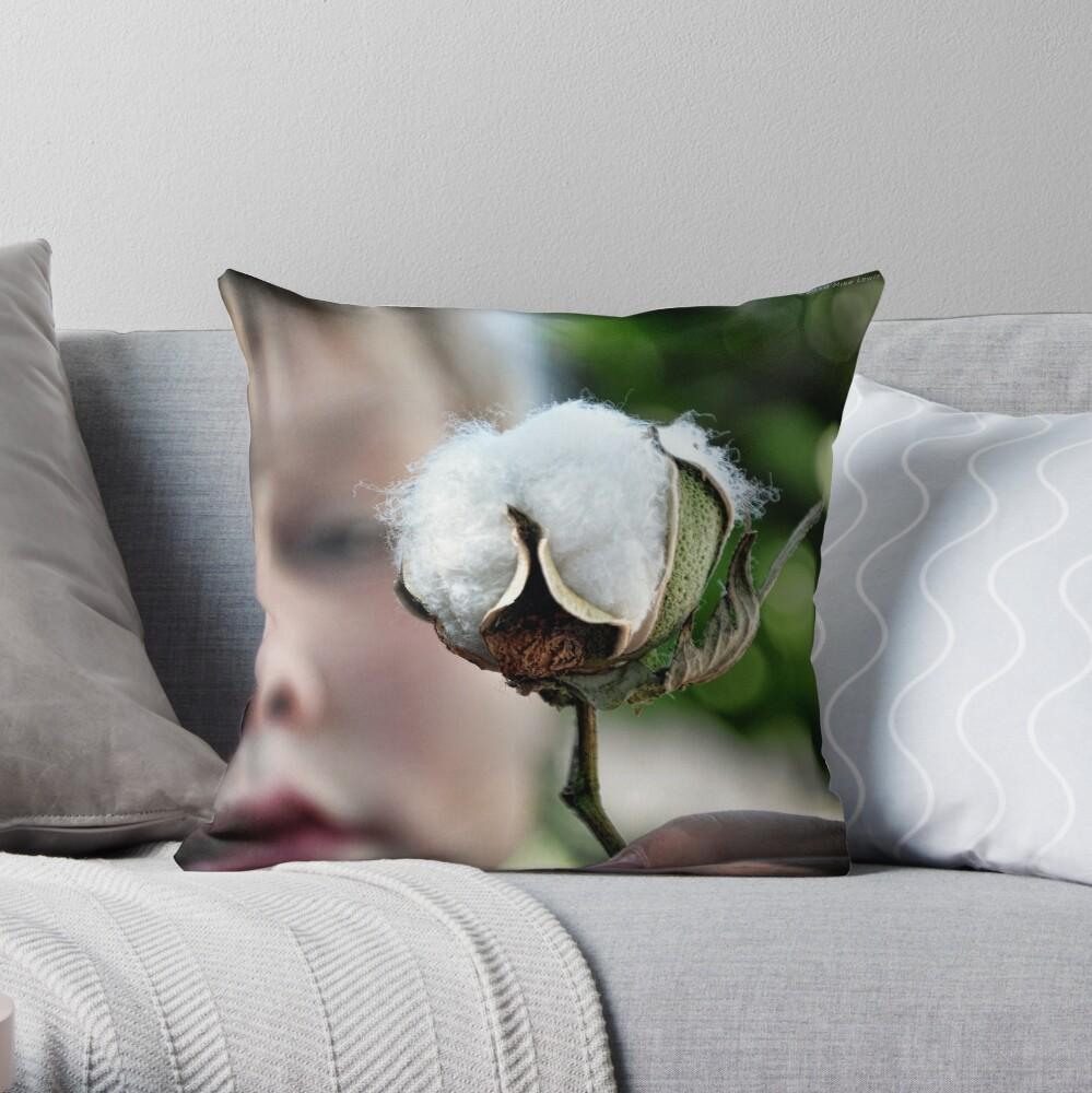 Pima Cotton Throw Pillow