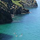 Not Surfing....Yet Heaven! Cornwall. by greenstone